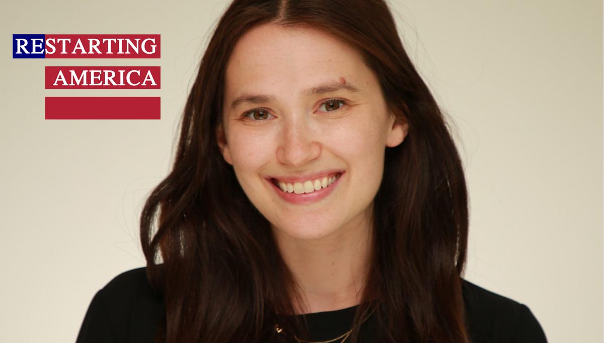 Restarting America | Elyse Saretsky | Jewish United Fund, YLD